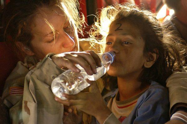 humanitarna pomoc dievca voda